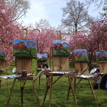 Outdoor Painting Class for Adults