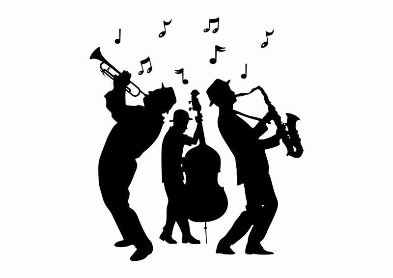 Jazz Band At The Library….Coool!