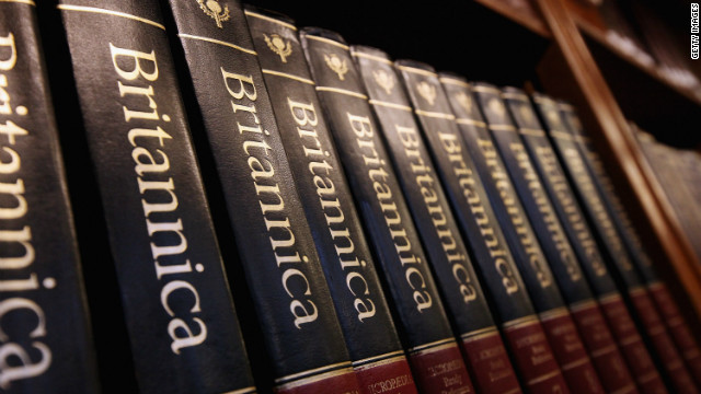 Encyclopedias Up for Grabs