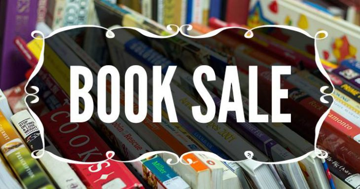 Book Sale in September & October